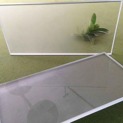 Frosted insulated tempered glass
