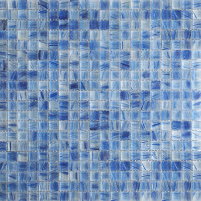 Square glass mosaic tile mini honeyberry 4mm thickness 327mm