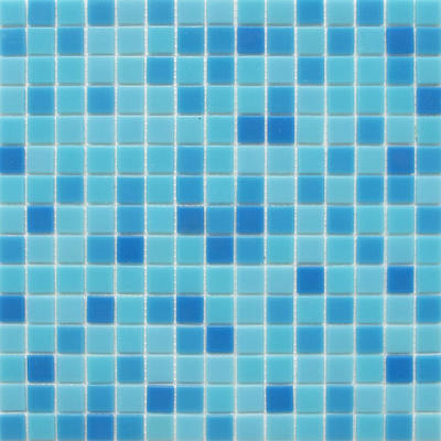 Square glass mosaic tile ocean series 4mm thickness 327mm