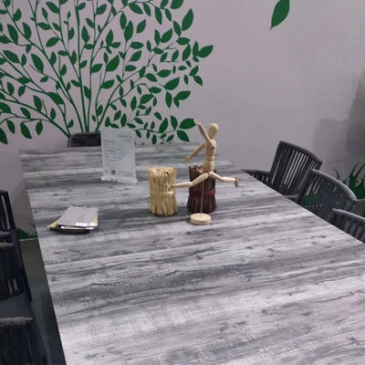 Marble Effect Glass Table Tops
