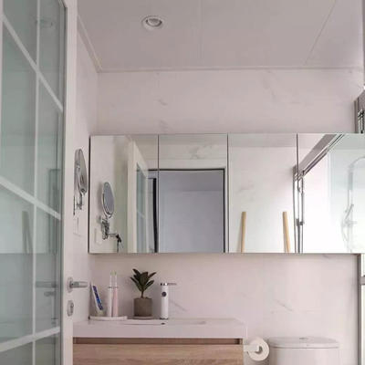 High quality bathroom mirrors aluminum & sliver mirror